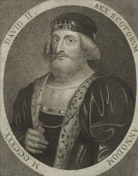 King David II of Scotland