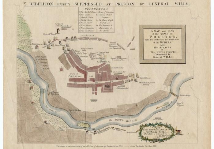 The Battle of Preston 1715
